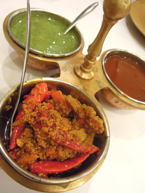 インド料理のフランチャイズ