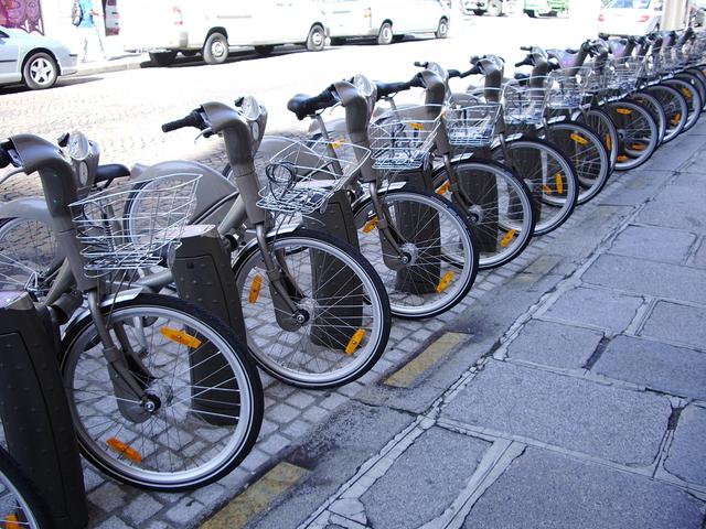 レンタル自転車のフランチャイズ